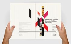 #Iccrom Editorial Design#Geometrical