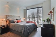 Evolo 2 contemporary-bedroom facing the river Contemporary Bedroom, Condominium, River, Furniture, Home Decor, Decoration Home, Room Decor, Modern Bedroom, Home Furnishings