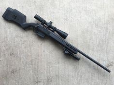 Remington 700 with a Magpul Hunter stock