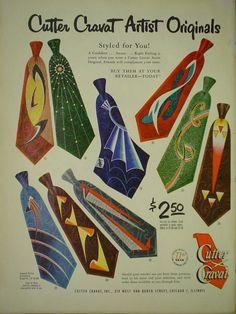 vintage tie advertisement.