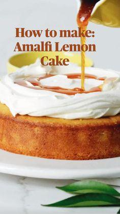Lemon Desserts, Lemon Recipes, Just Desserts, Sweet Recipes, Baking Recipes, Delicious Desserts, Cake Recipes, Dessert Recipes, Yummy Food