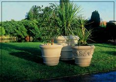 Verona and Toscana Vineleaf Planters Garden Fountains, Verona, Vases, Planter Pots, Diy Garden Fountains, Jars, Garden Water Fountains, Vase