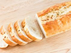 Recetas   Food Network Baguette, Food Network Recipes, Bakery, Bread, Vegan, Openness, Garlic Bread, Bread Recipes, Spoons