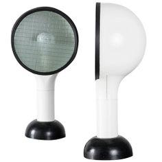 "Pair of ""Drive"" table lamps by Adalberto Dal Lago for Bieffeplast"
