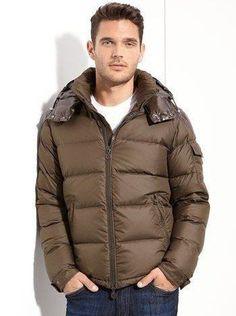 Doudoune Moncler Homme Pas Cher Black Down, Down Parka, Discount Clothing,  Winter Outfits 12d2728438c