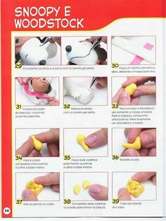 STEP BY STEP SNOOPY E WOODSTOCK PART N°4