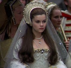 One of my all-time favorite movies and my favorite portrayal of Anne. >>> Anne Boleyn's Coronation Gown (Anne of the Thousand Days, 1969)