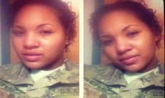 She should be given a Dishonorable Discharge and sent on her way to another country she feels more loyal to! Soldier posts selfie while hiding in car to avoid saluting the flag » Fresh Ink -- GOPUSA