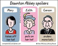 Downton spoilers
