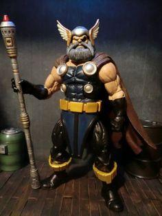 Odin (Marvel Legends) Custom Action Figure by Paint Samurai Customs Base figure: BAF Terrax