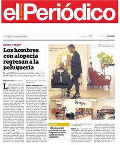 Hoy EL PERIÓDICO nos ha dedicado un reportaje a nuestro HAIRLESS TREATMENT, el primer tratamiento específico para calvos sexys   http://www.bajomisombrero.com/prensa  #hairless #tractament #calvicie #hombre #bald #caidacabello  #calvo #sexy #barcelona #bcn