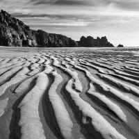 Black & White Coastal Landscape Photography, Dan, Coastal, Black And White, Beach, Water, Outdoor, Gripe Water, Outdoors