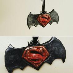 #batmanvsuperman #Handmade #polymerclay ♡