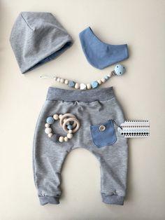 Babyset Hose Beanie Lätzchen
