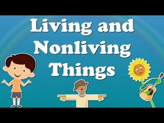 Needs of Living Things Animation Kindergarten Prescoolers Kids - YouTube