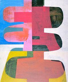 Saatchi Online Artist: Jim Harris; Acrylic. 2013. Painting. Jim Harris: Chet Baker & Art Pepper Sextet 1956 - Minor Yours (Second Version).