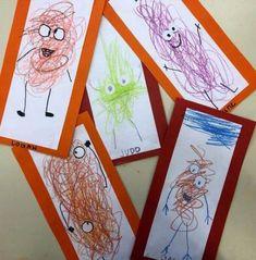 Best Ideas Halloween Art Projects For Kids Preschool Toddler Activities, Preschool Activities, Preschool Art Lessons, Projects For Kids, Art Projects, Arte Elemental, Toddler Art, Kindergarten Art, Process Art