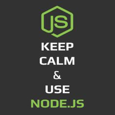 Keep Calm and Use NodeJS T-Shirt | Fabrily