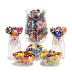 Assorted Candy Buffet Ideas. Huge selection of assorted candy types, colors & containers - perfect for planning your candy buffet.