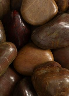 Jamali is the leading natural stone supplier selling natural stones wholesale like our Polished Brown River Stones. We have the finest collection of colored garden rocks and stones, river stone pebbles and river rock. Orange Brown, Brown Beige, Mocha, The Magic Faraway Tree, River Stones, River Rocks, Earth Color, Brown Eyed Girls, Garden Supplies