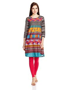 Global Desi Women's A line Kurta Check more at http://www.indian-shopping.in/product/global-desi-womens-a-line-kurta/