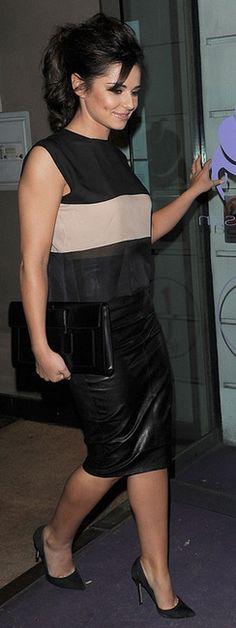 Cheryl Cole: Sumosan restaurant in Mayfair September 4, 2012