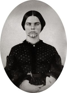 The girl with the tattooed face became something of a legend, but she started out as an ordinary girl. Olive Oatman and her younger sister, Mary Ann, were kidnapped by Indians in 1851. They eventually ended up living with a tribe of the Mojave, where they were both tattooed with distinctive blue markings on their… Read more