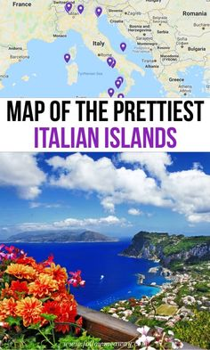 17 Of The Prettiest Italian Islands You Must Visit + Location Map - Travel Trends Italy Travel Tips, New Travel, Travel And Tourism, Travel Guide, Rome Travel, Florida Travel, Cheap Travel, Cool Places To Visit, Places To Travel