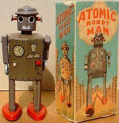 Tin Toy Robots: A brief history | Gidget's Scrapbook