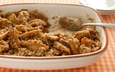 Spiced Apple and Pear Crisp
