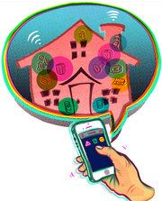 Controlling Your Smart Home With One Hub 6/12/14- NYTimes.com Molly Wood explores what it takes to connect lights, garage doors, door locks, speakers and other home electronics on a network. It's possible, she finds, but not so easy yet.