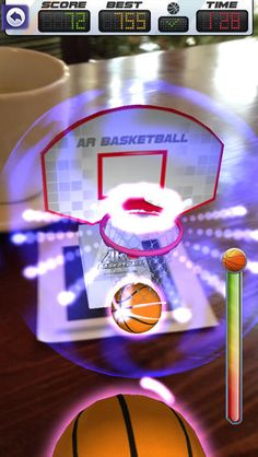 ARBasketball - Augmented Reality Basketball Game App for your iPad | Apple Store