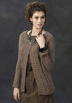 Ravelry: IQuitos Cable Sweater pattern by Ann E. Smith - free pattern