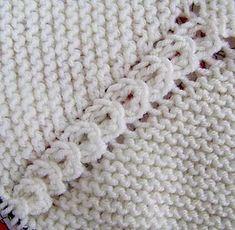 puntomoderno.com tutorial Jersey de Bebé Alex Knitting Stitches, Embroidery Stitches, Knitting Patterns, How To Purl Knit, Knitting For Kids, Yarn Crafts, Knit Crochet, Manga Raglan, Blanket