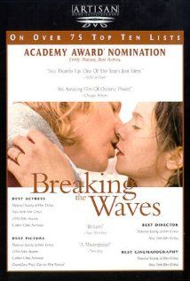 Breaking the Waves is a 1996 Drama, Family film directed by Lars von Trier and starring Emily Watson, Stellan Skarsgård. Shia Labeouf, Alfred Hitchcock, Great Films, Good Movies, Amazing Movies, Movie List, Movie Tv, Casablanca, Movies