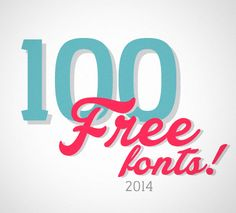 List of 2013 best #webfonts #typography http://www.awwwards.com/the-100-greatest-free-fonts-for-2014.html
