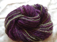 "My handspun yarn, ""M"