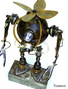 Robot Sculpture ~ Vesuvius