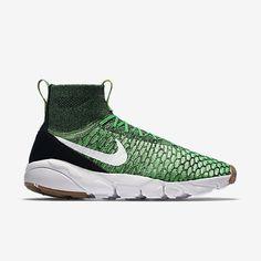 Nike Air Footscape Magista Flyknit Men's Shoe Poison Green/University Red/Black/White