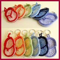 Llaveritos a crochet