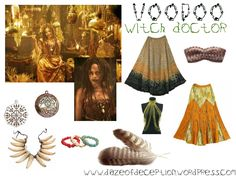 Hey Guys! Witch costumes are a Halloween staple, but who wants to be the classic green and warty witch?! My suggestion is opting for something a bit different like a Voodoo witch doctor. Theinspir...