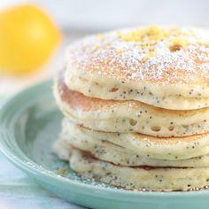 Light and fluffy Lemon Ricotta Pancakes