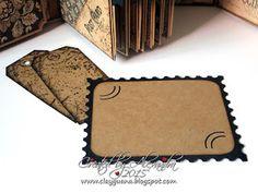 *ClayGuana: Graphic 45 Craft Reflections Suitcase Vintage Style Mini Album