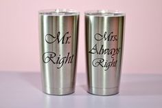 Engraved Personalized YETI Tumbler 20 oz