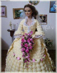 My crochet gown for tonner dolls - Monika St - Álbumes web de Picasa