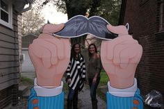 Mustache Party Arch. The best party entrance ever