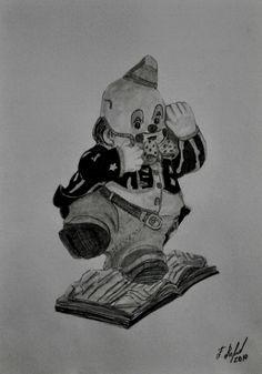 DESENHO S/ TÍTULO ANO 2014 TÉCNICA - GRAFITE SOBRE PAPEL. DIMENSÕES 29,7 cm x 21 cm REGISTRO 000810B