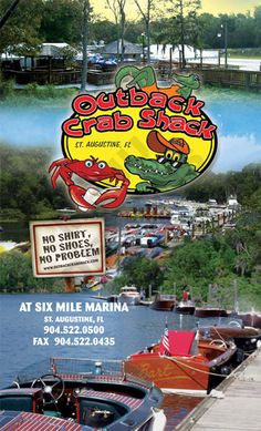 Outback Crab Shack near St. Augustine (but out in the middle of nowhere)