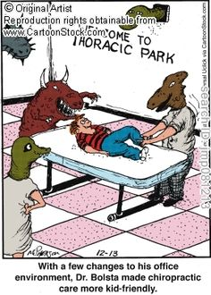 With a few changes to his office environment, Dr. Bolsta made chiropractic care more kid-friendly. by McPherson, John