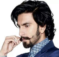 Ranveer Singh, Bearded Bollywood Actor.